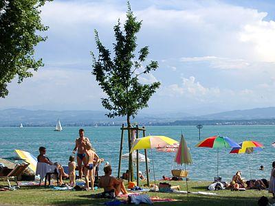 Sommer, Sonne, See